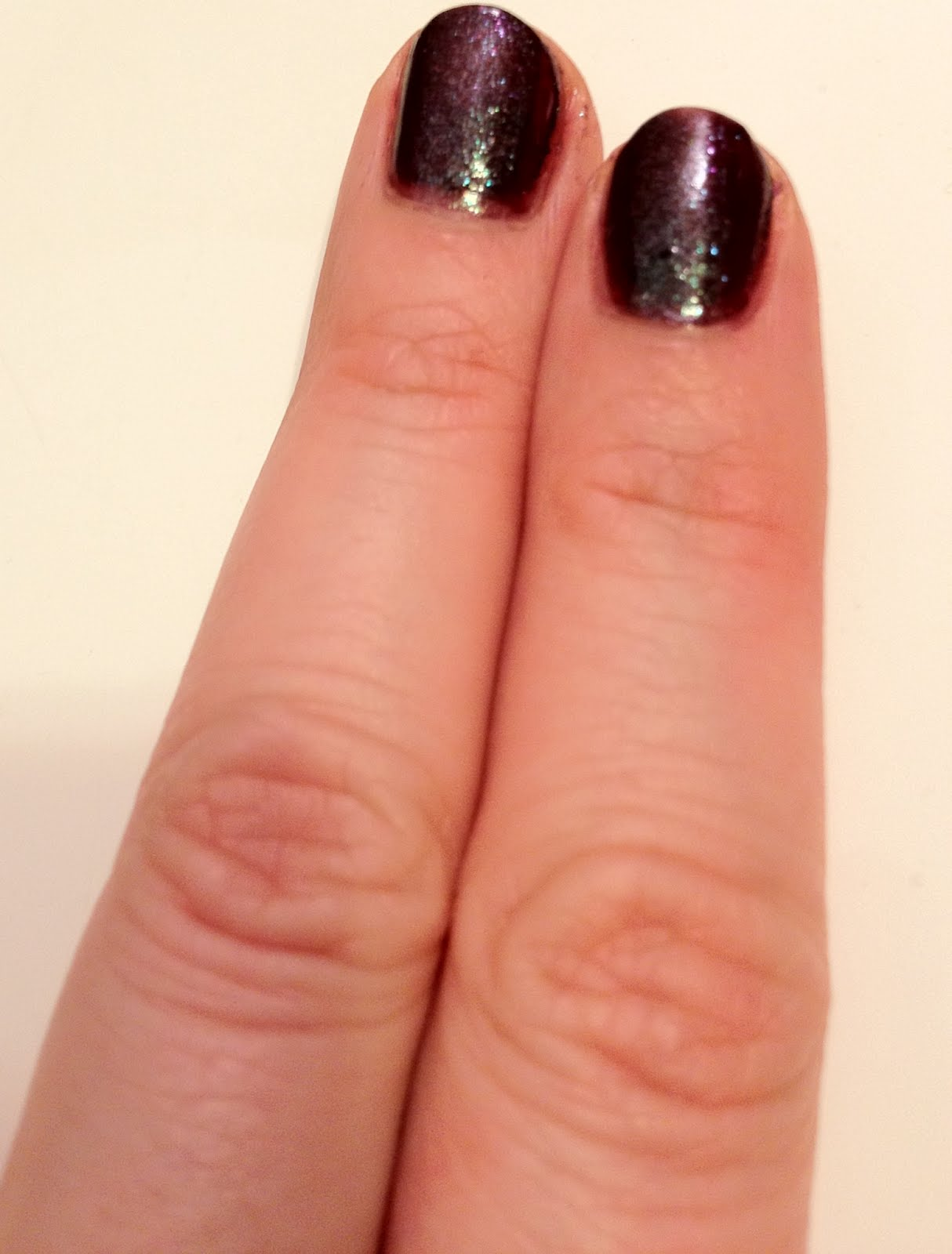 The Beauty of Life: Nail Polish Comparison: M.A.C Formidable! and ...