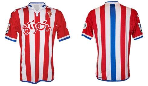 Kappa mete al Oviedo en la camiseta del Sporting