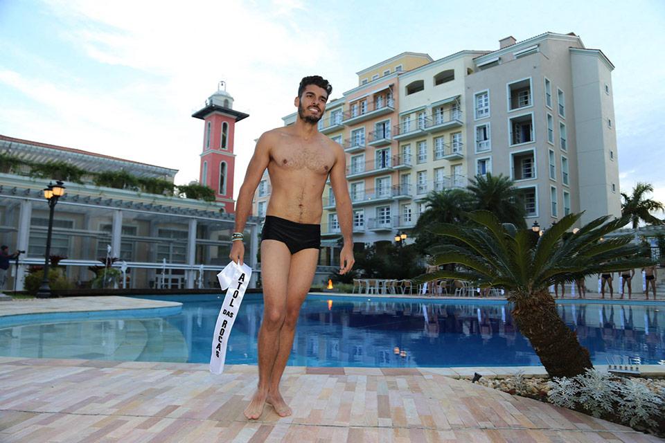 Mister Atol das Rocas - Diego Jácome, 24 anos, 1,83 m - Foto: Leonardo Rodrigues