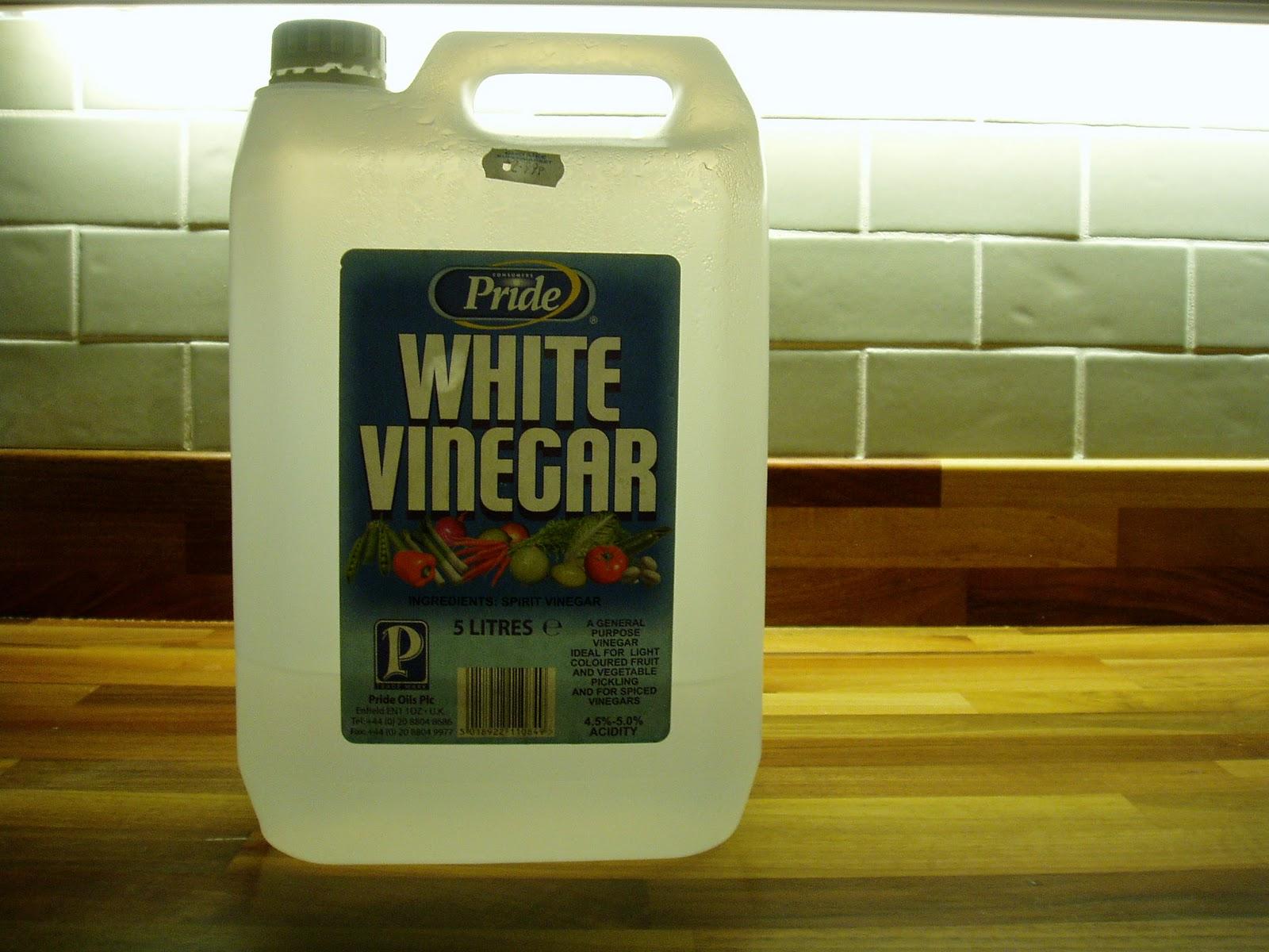 Vinegar, Vinegar U0026 Yet More Vinegar.