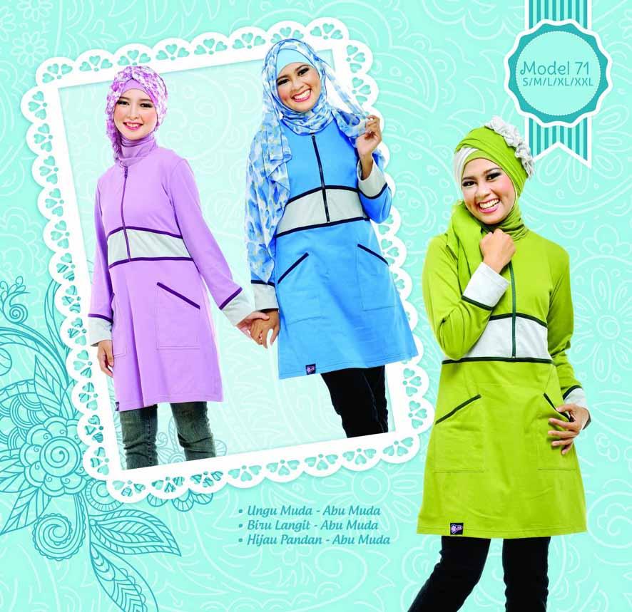 Katalog busana baju mutif terbaru juni 2013 diskon besar Baju gamis elif