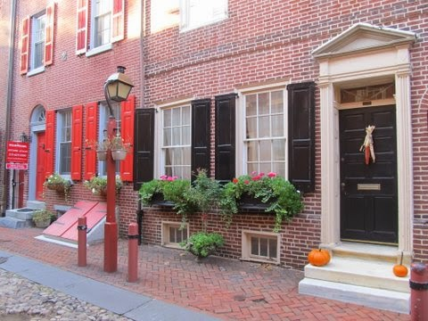Flavjo70 travel dreams l 39 elfreth 39 s alley di philadelphia la pi antica strada americana - Finestre all americana ...