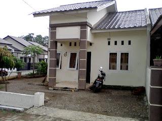Model Rumah Minimalis Type 45 Halaman Luas