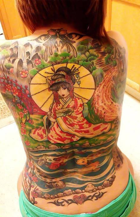 Amazing 3D Tattoos Ideas...