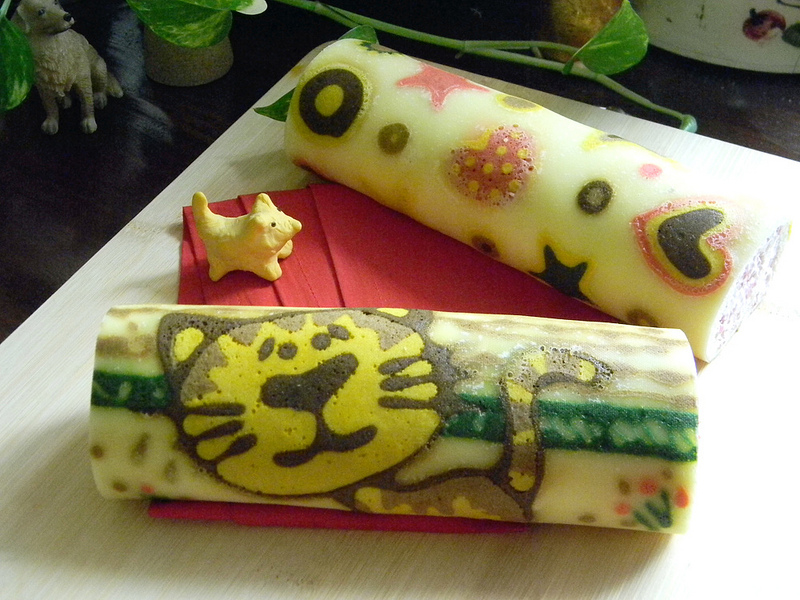 Cake Roll Art : Ninjas 4 Asia: Made in Japan: JapanArt en los Cake Rolls