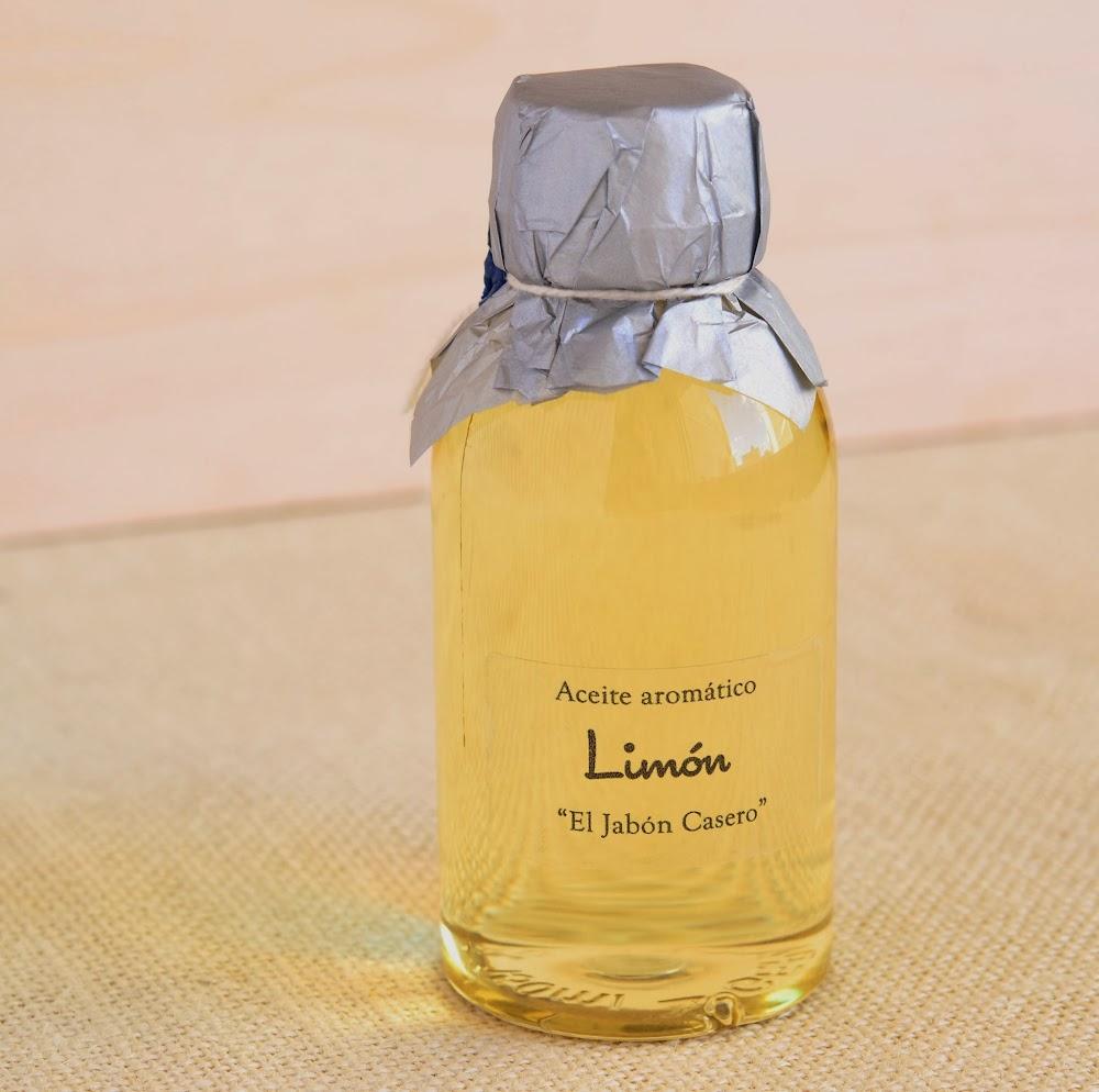 aceite corporal aromatico limon