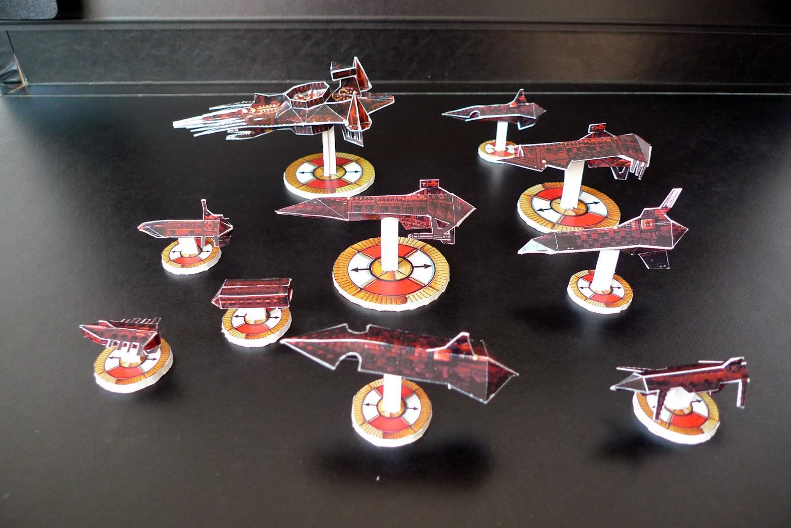 Battlefleet Gothic Papier Pour les débutants et les Nouveaux Joueurs Chaos+fleet