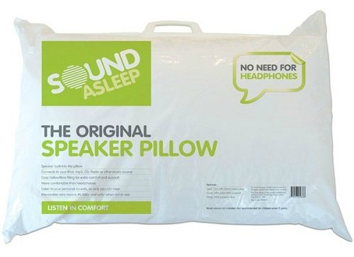 The Power of Music - Deeper Sleeper with Sealy UK Sound Asleep Speaker Pillow