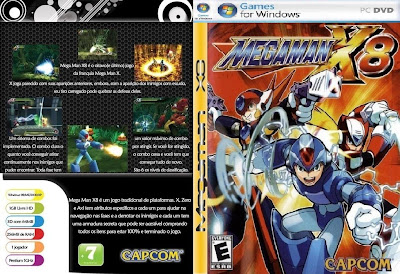 Megaman X8 PC DVD Capa