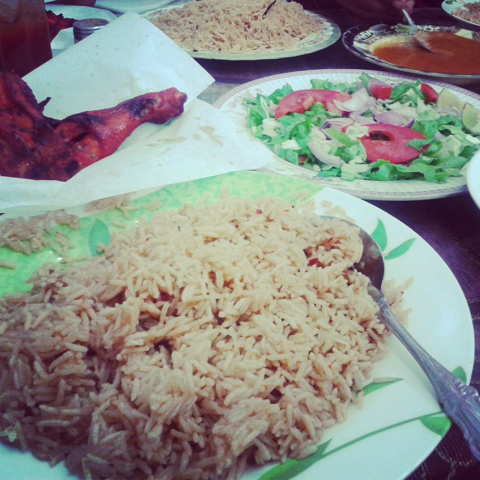 Biryani at Pakistani restaurant in Rawasco, Al Khuwair, Muscat