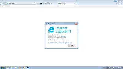 Windows 7 İnternet Explorer 11