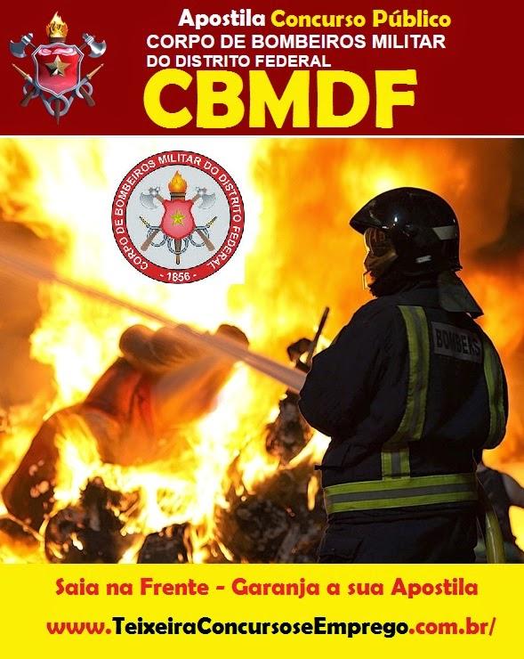 Apostila Corpo de Bombeiros CBM-DF 2015.