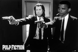 pulp fiction obama smoking