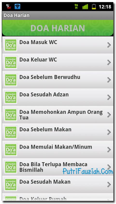 Kumpulan Doa Dan Asmaul Husna Untuk Android Solution
