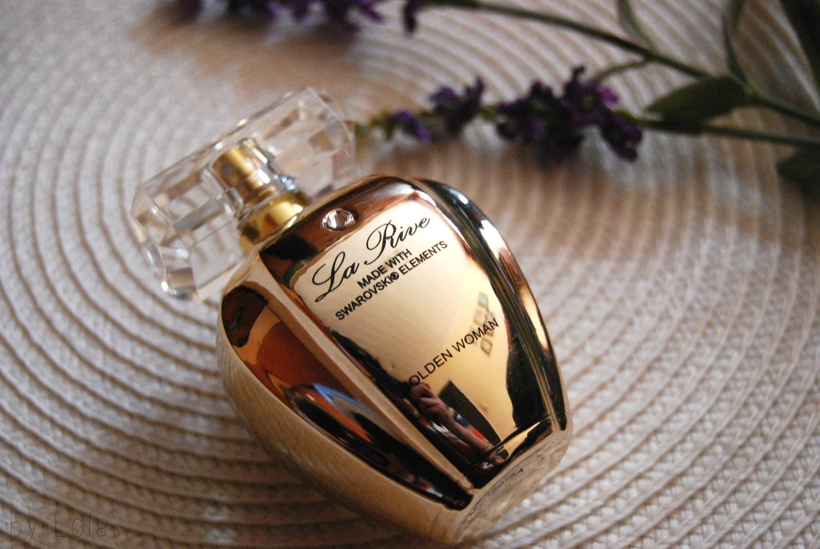 La Rive, Golden Woman, Swarovski, perfum, woda toaletowa, zapach, tani, dobry
