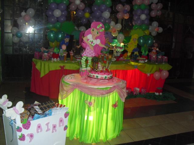 Decoración de Frutillita para cumpleaños - Imagui