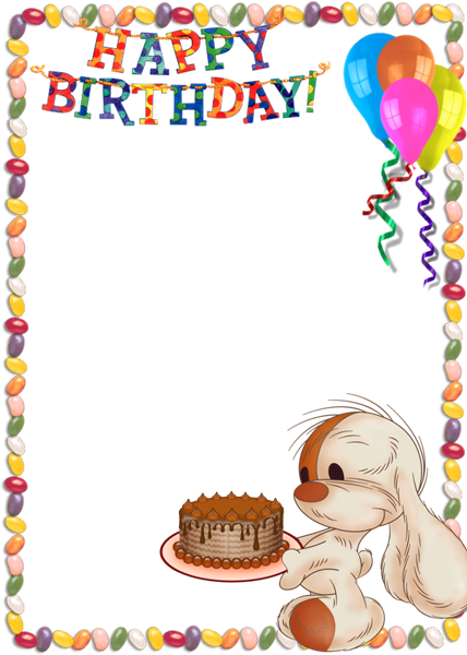 Birthday Frame Png Png Happy Birthday Frame