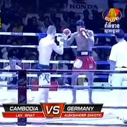 [ Bayon TV ] Lao Sinath Vs Alek Sander Sakotic (Germany) 27-Dec-2013 - TV Show, Bayon TV, Kun Khmer International