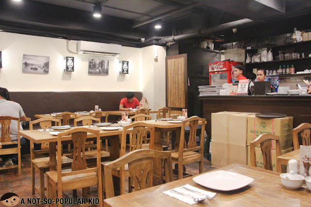 Ba Noi interior in Makati
