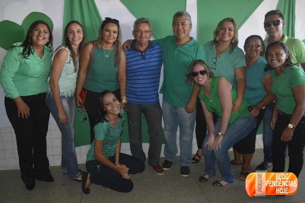 Convenção do PMDB oficializa Vereador Fernandinho a pré-candidatura a Prefeito de Pendencias RN.
