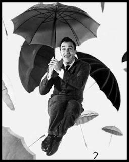 Gene Kelly en Cantando bajo la lluvia