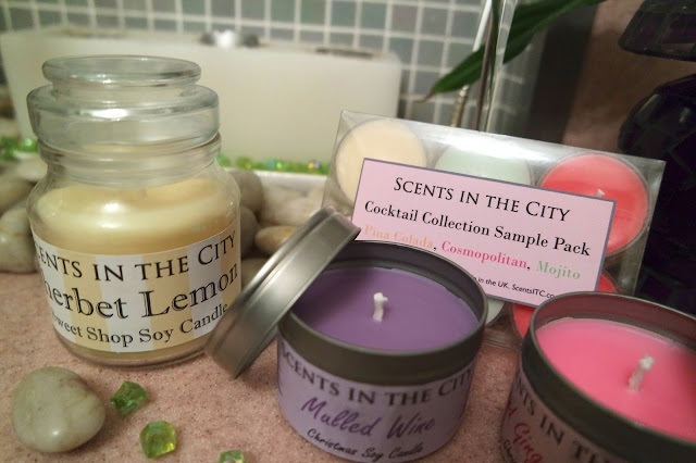 Scents In The City Candle Collection