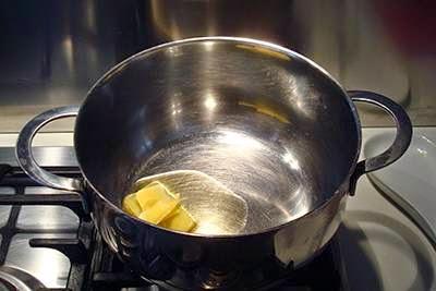 Polpettine di riso in brodo: primo passaggio