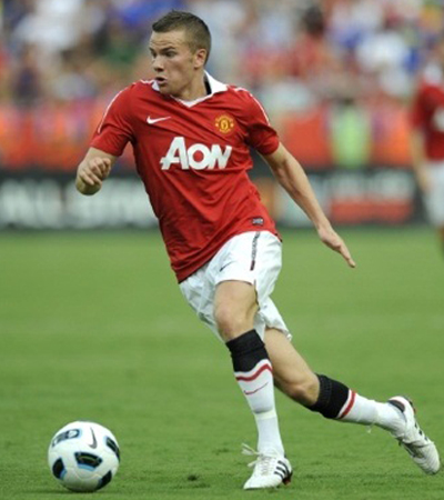 Tom Cleverley Manchester United 2011-2012