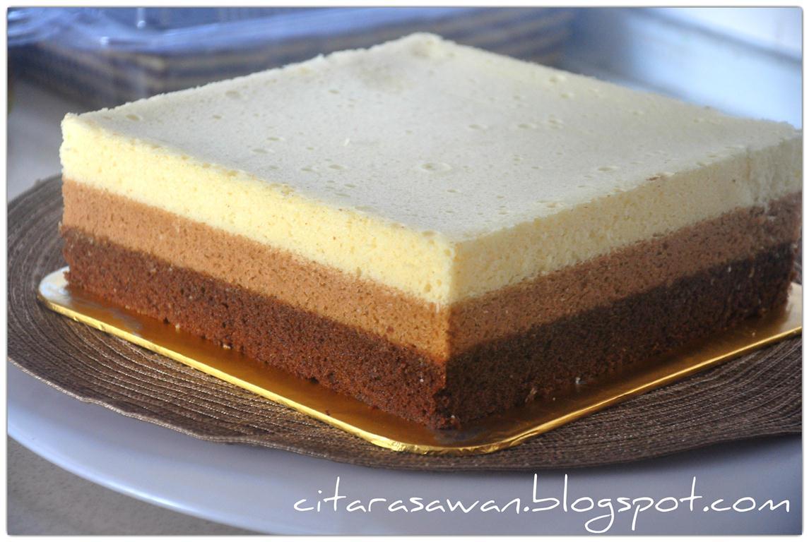 resepi kek batik oreo