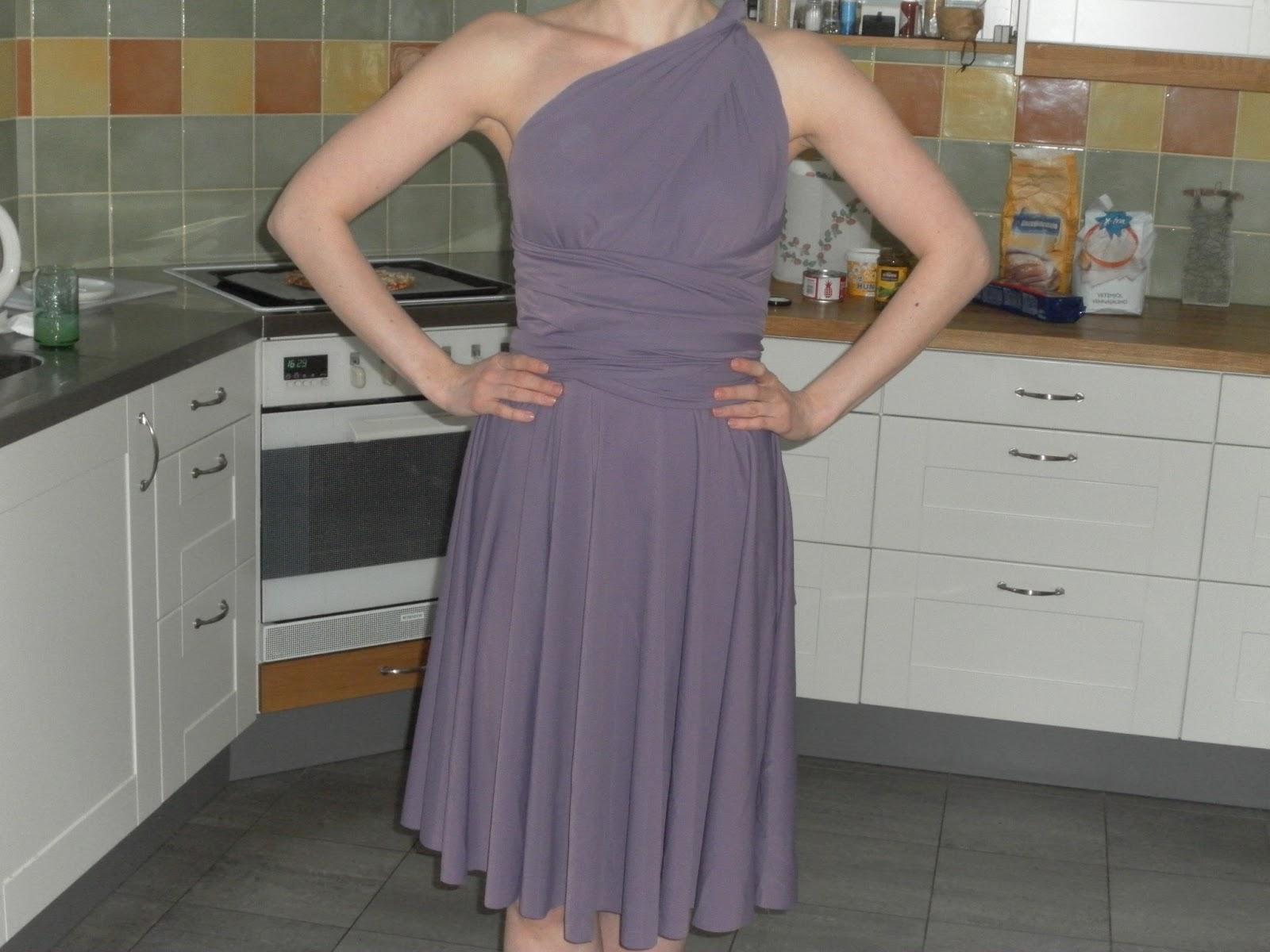 Nahkalaukku Ohje : Tuunaus tilkku ja tyyny infinity dress