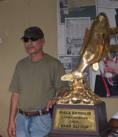 Baba Ali Cup Pemicu Lomba Besar Galatama