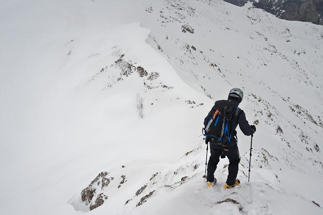 Serra di Celano cresta est
