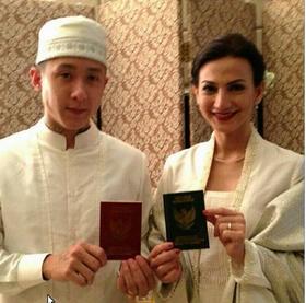 Wanda Hamidah dan Daniel Patrick Hadi Menikah