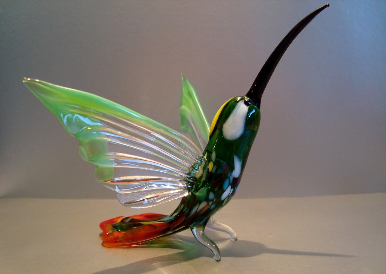 Grants glass - изделия и игрушки из стекла: Птицы, бабочки ...