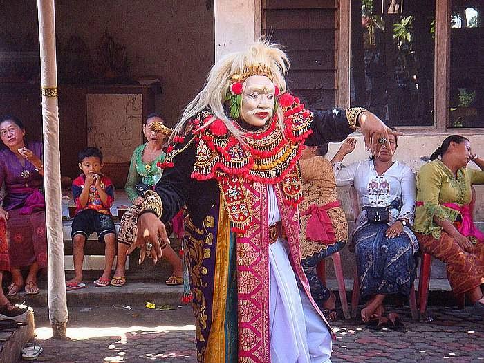 Balinese mask dance