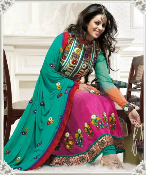Gorgeous Anarkali frock