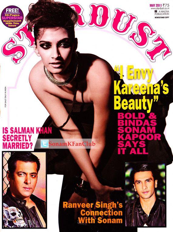 Sonam Kapoor Stardust Magazine May pics