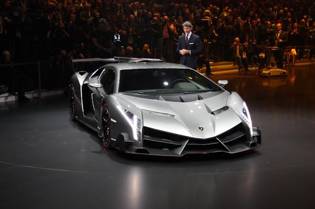 Lamborghini veneno Geneva motor show 2013