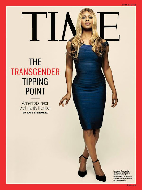 Actress, Television Producer @ Laverne Cox - Time June 2015