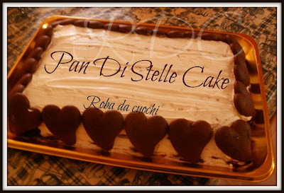 torta pan di stelle (versione torta gelato)