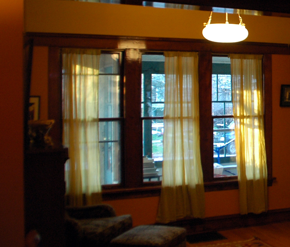 our tiny oak park bungalow new window shades - House Window Shades