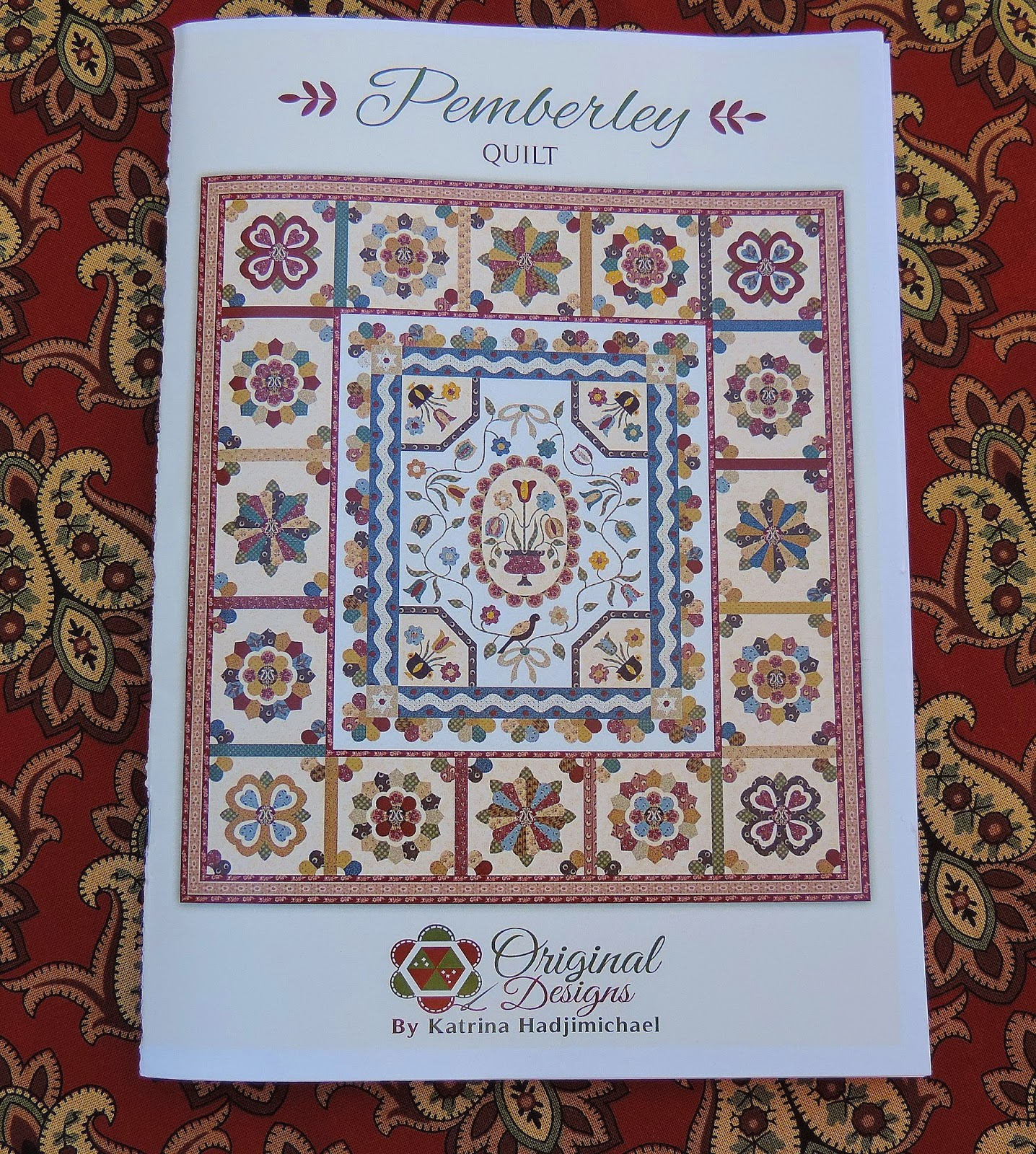 Katrina hadjimichael 39 s blog introducing pemberley for Patterned material for sale