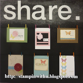 Share Display Board - Paper Angels Swaps 2011