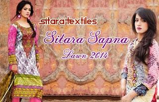 Sitara Sapna Lawn 2014