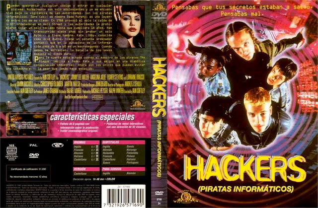 Hackers Piratas Informaticos Dvd
