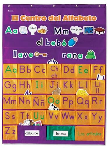 Si quieres compartir tus imágenes de alfabetos y la ambientación de