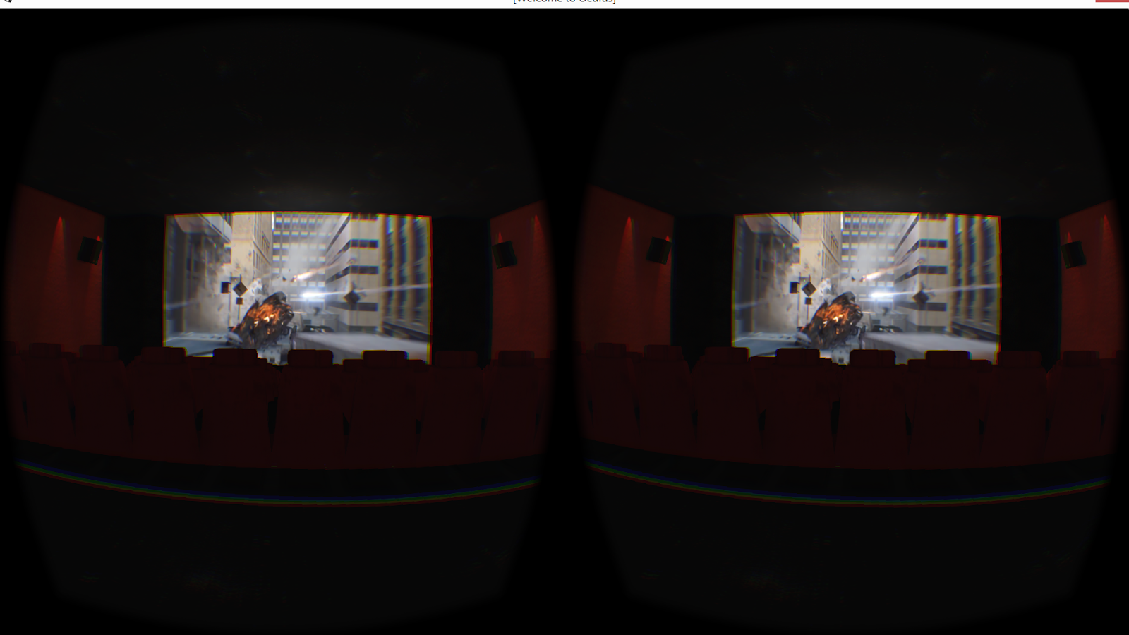 I've heard it said that picture quality in Oculus will be ...