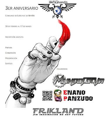 Concurso de Ejercitos 3er Aniversario de W40ktenerife