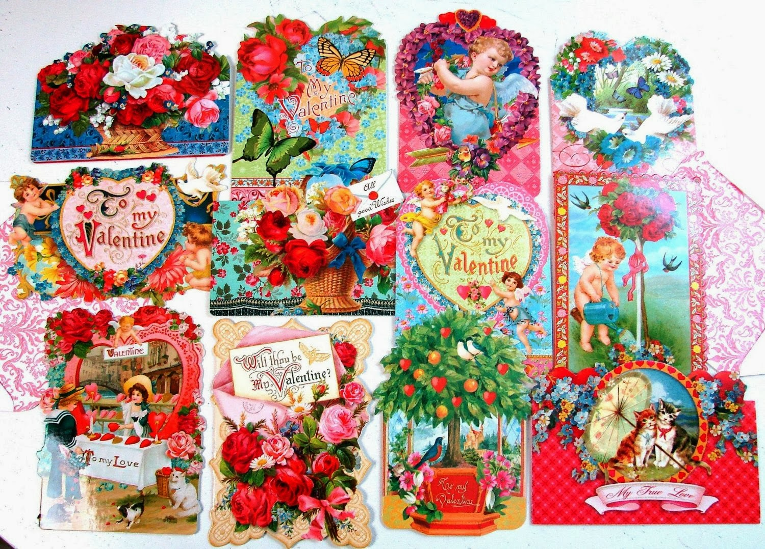 24 Valentine Card Assortment By Punch Studio
