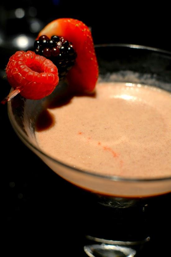 Hakkasan Black Forest Gateau Martini